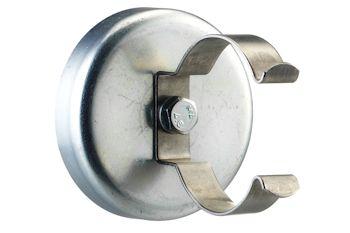 Haftmagnet groß (HG) mit Klammer K3