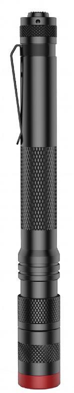*LED-Stift-Taschenlampe mit wiederaufladbarem Akku - Mikro-Lux