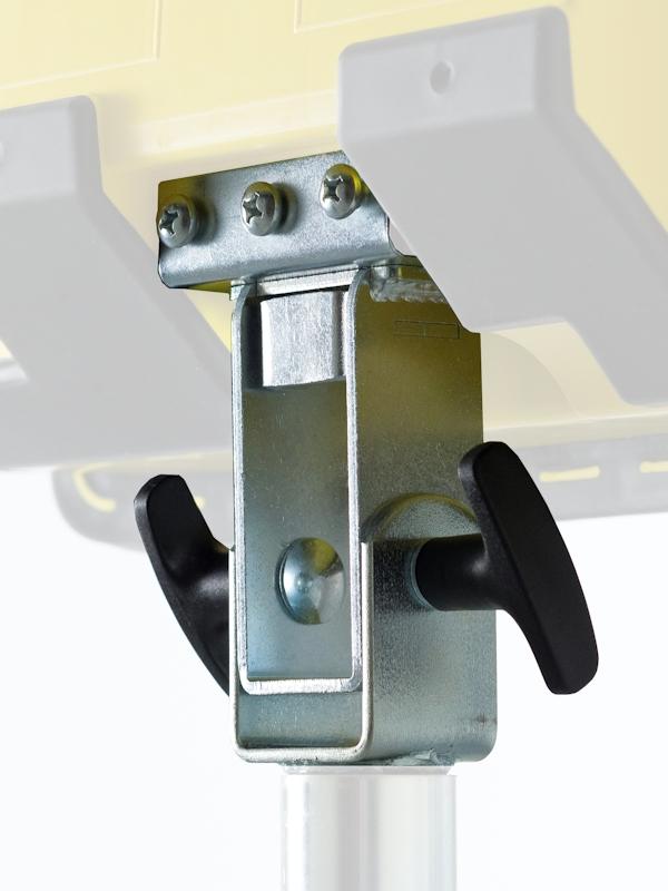 Umrüstsatz f. Rohrlux Stative auf Klick-Fix System