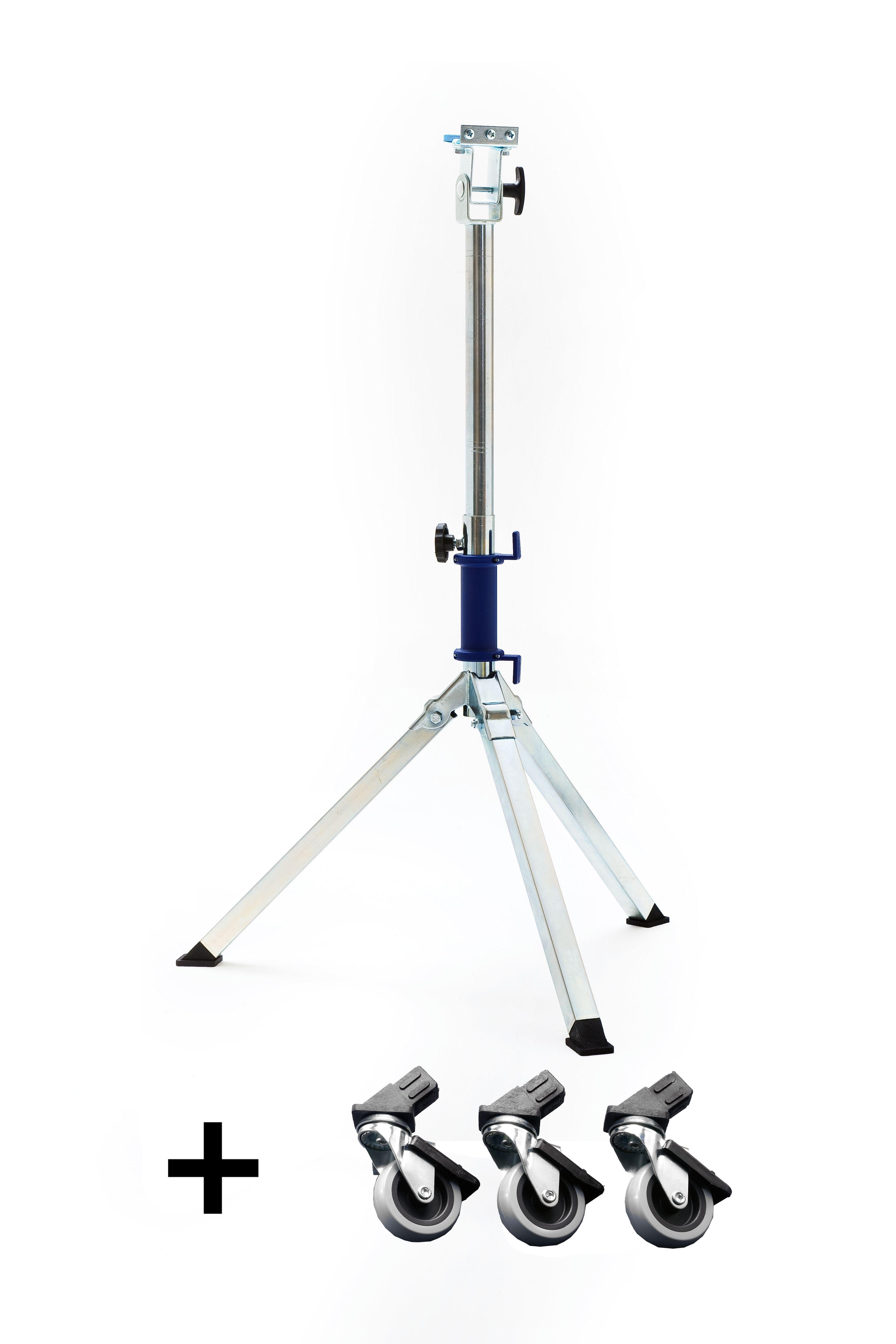 *Stativ klein (1m -1,45 m) für Opus m. KlickFix 2 + Lenkrollen