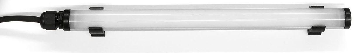 Serie 23 LED: 6 Watt/ 24-42 Volt AC/DC/ 459 mm ( Einzelleuchte m. Steckverb)