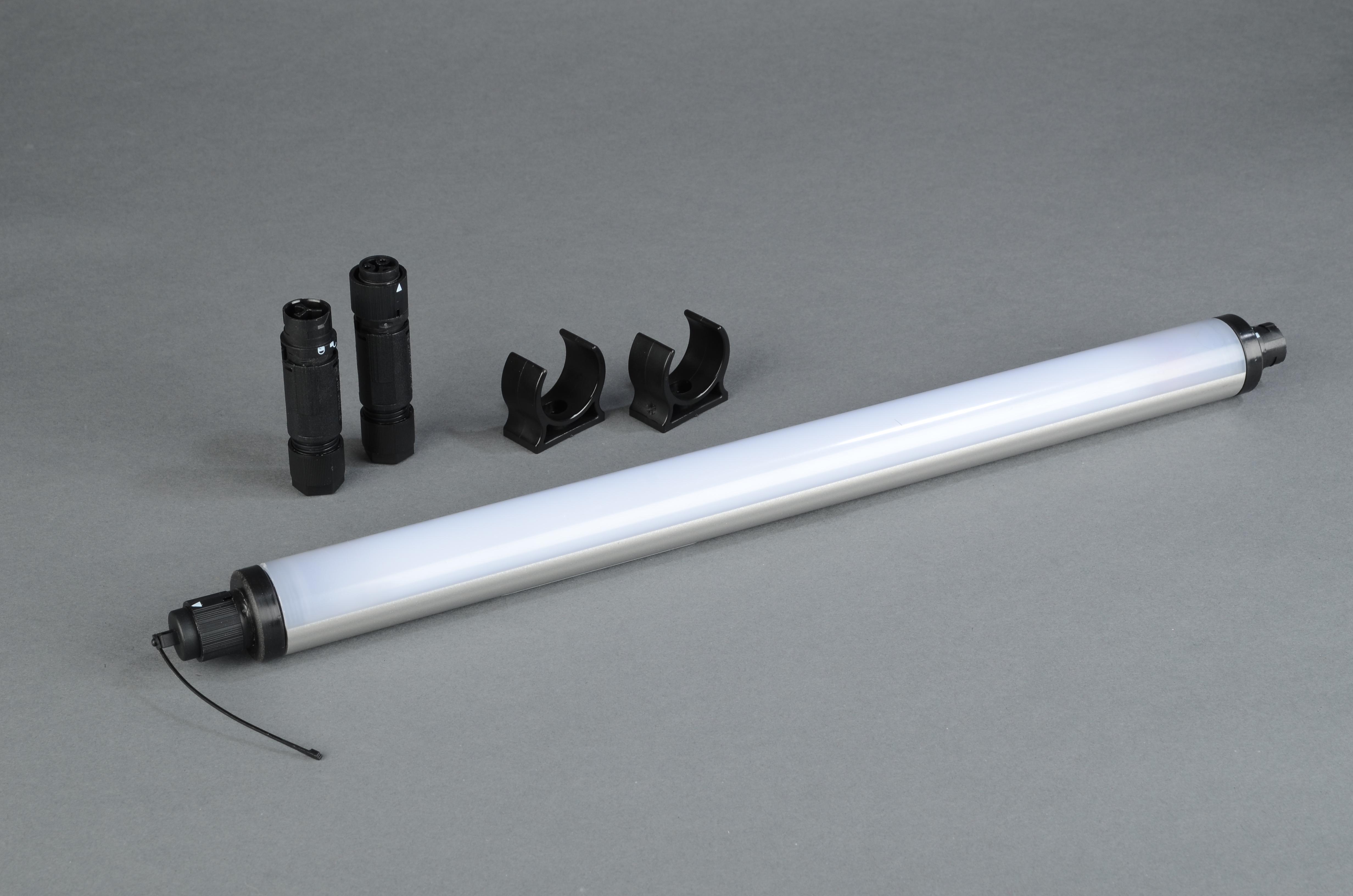 Serie 23 LED: 22 Watt/ 24-42 Volt AC/DC/ 1428 mm (DU m. Steckver)