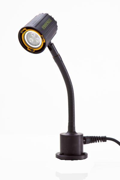 Serie 63: 10°/ Flex 200 mm/ Standfuß/ 12-24 Volt AC/DC