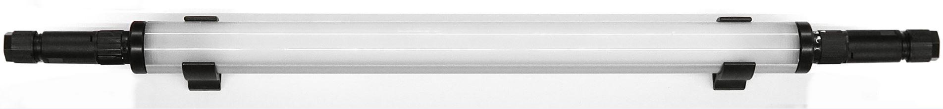 Serie 23 LED: 6 Watt/  24-42 Volt AC/DC/ 530 mm  (DU m. Steckverb)