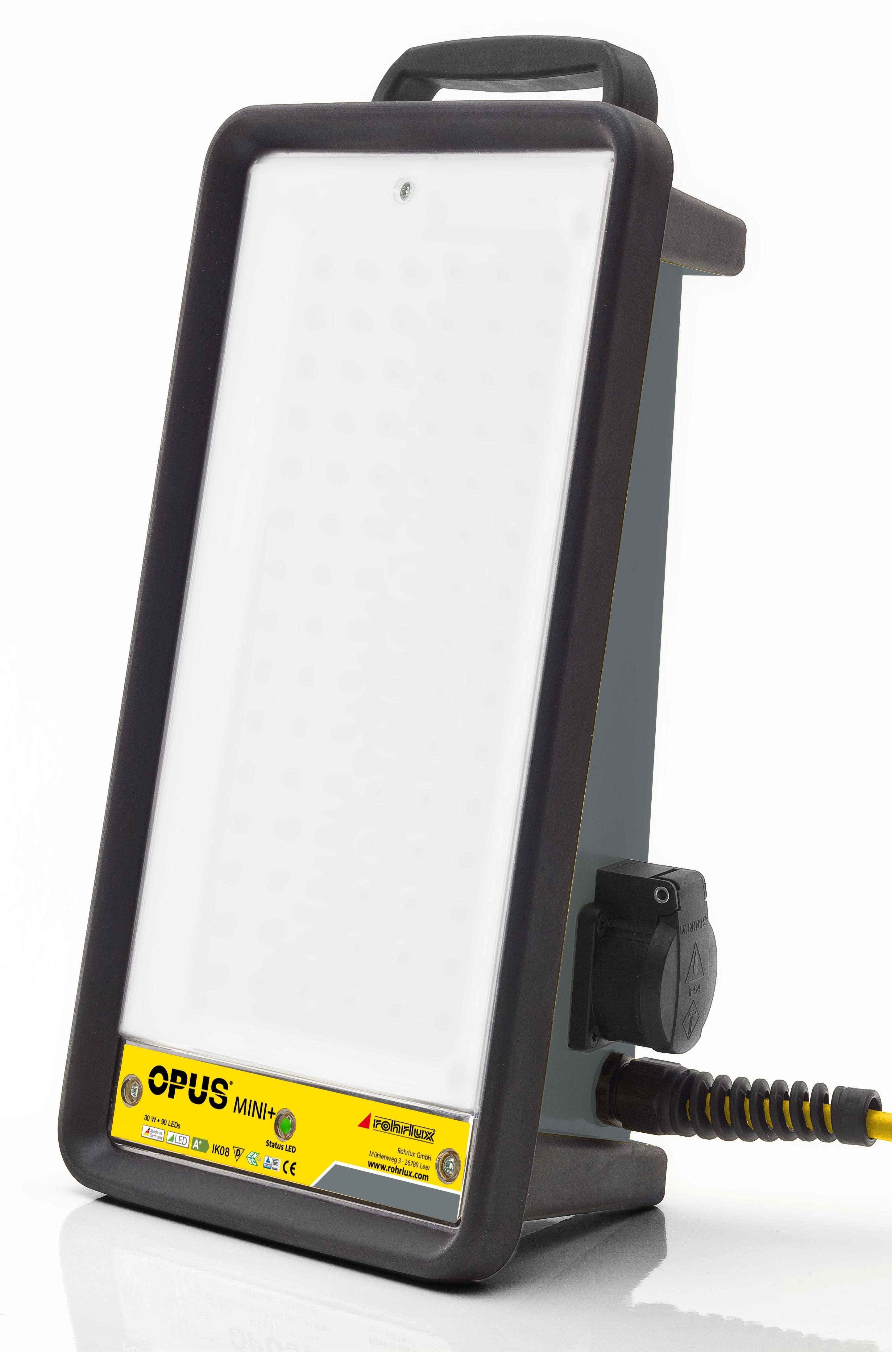 Opus Mini LED mit Notlichtfunktion - 4000 Lumen- 5000K-  220-240 Volt AC