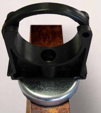 Haftmagnet groß (HG) mit Rohrschelle