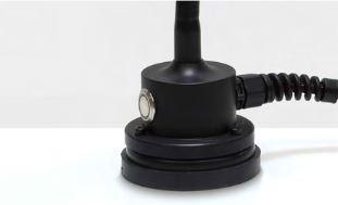 Magnetstandfuß mit Gummierung und Schalter
